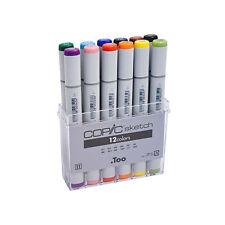 Copic Sketch Marker 12 Color Basic Set