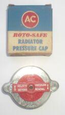 AC RC-109 13# Roto-Safe Radiator Cap NOS Chrysler Ford Mercury Studebaker Nash