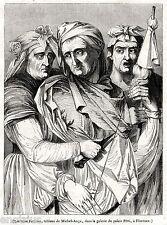 Le Tre Parche del Destino. Figlie di Zeus e di Temi, La Giustizia.Mitologia.1844
