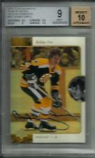Bobby Orr 15/16 SP Authentic SP Retro Gold Autograph BGS 9 Mint