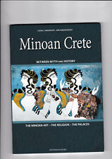 MINOAN CRETE - GREECE - BETWEEN MYTH AND HISTORY -Travel Guide -  Brand New
