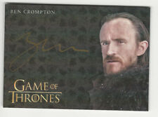 Ben Crompton as Eddison Tollett GAME OF THRONES Inflexions Autograph Card Gold