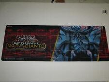 Kazuki Takahashi YU Gi OH Battle Pack 2 War of Giants Playmat GamingMat 9x24Blue