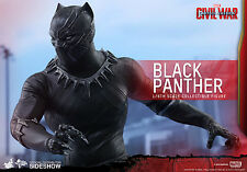 CAPTAIN AMERICA: CIVIL WAR~BLACK PANTHER~SIXTH SCALE FIGURE~HOT TOYS~MIB