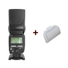Aufsteckblitz Blitzgerät Systemblitz Yongnuo YN685 TTL mit Diffusor für Nikon
