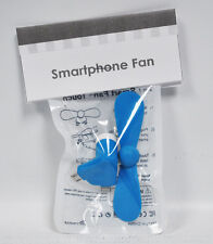 Smartphone Fan Blue