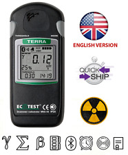 Proffesional Dosimeter Detector Terra MKS-05 Geiger Counter With Bluetooth