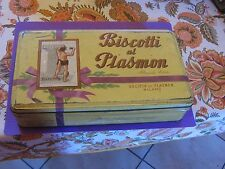 scatola in latta biscotti Plasmon