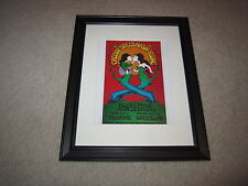 Framed Crosby, Stills, Nash and Young Tour Poster, 1969, Fillmore, Winterland