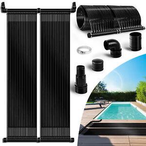 tillvex® Solarheizung Pool Solarkollektor Poolheizung Solarmatte Solarabsorber