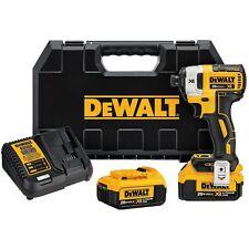 DEWALT DCF887M2 20V MAX XR 4.0 Ah 1/4 in. 3-Speed Impact Driver Kit