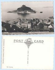 St. Michael's Mount from Marazion England UK RPPC Real Photo Postcard