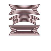 Stanzschablone Banner Hochzeit Weihnachten Oster Geburtstag Karte Album Deko DIY
