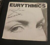 Eurythmics Would I lie to you? vinyl single