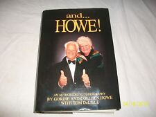 Gordie & Collen Howe Mr & Mrs. Hockey Autographed And Howe Book