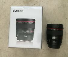 Canon EF 24mm f/1.4L II USM Lens Used Excellent Condition & B+W MRC nano Filter