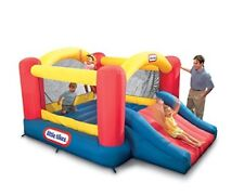 Blow-Up Slide Kid's Inflatable Bounce Castle Bouncy House Air Children Play Sets