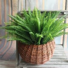 7 Branches Artifical Silk Green Boston Fern Grass Plant Home Party Decor New