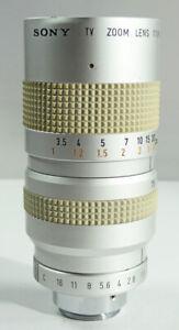 Beautiful lens c mount SONY f: 1,8 12,5mm - 75mm