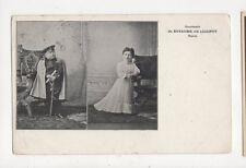 Royaume de Liliput Paris Tiny Town Olympia Midgets 1909 Postcard 625a