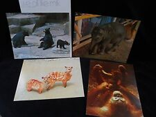 10 Vintage Teaching Pictures National Dairy Council- Mammals Animals ~ 1970