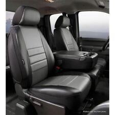 FIA SL67-10GRAY Leatherlite Front 40/20/40 Split Seat Cover Gray/Black for Ford