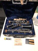 A8 Yamaha Black Wood Clarinet Nippon Gakki Perfectone M Martin France W/ Case