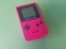 Refurbished & ReCapped Pink Nintendo Game Boy (Gameboy) Color Console CGB-001