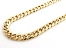 14K Gold Miami Cuban Chain 30 Inches 7.5MM 44 Grams