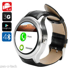 3G GSM Android Mobile Phone Smart Watch: Pedometer, Heart Rate, GPS, Barometer