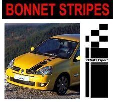 bonnet stripes renault sport fit renault clio megane