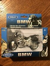 1:18 Welly BMW R1100 RT Motorcycle Bike Model Silver