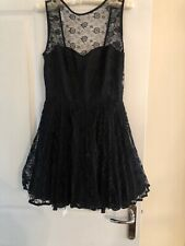 Topshop ASOS Black Jones And Jones Dress Size 12 BNWT