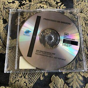 FRANCESCO DE GREGORI cd singolo promo NON DIRLE CHE NON E' COSI' Bob Dylan song