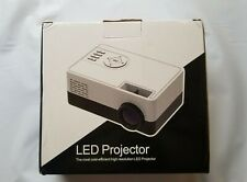 Mini LED Projector Support 1080P Video Display Home Media Player Portable A2