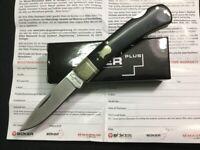 Boker Plus Black LockBack Folder Drop Pt Blade Folding Pocket Knife P01BO250B