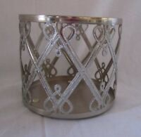Bath & Body Works 3-Wick 14.5 oz Candle Sleeve Holder HEARTS and DIAMONDS