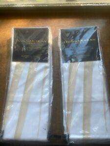 Donna Karan Home Awakening Collection Silk Organza Euro Sham in Blush $ (x2)