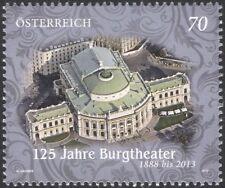 Autriche 2013 Burgtheater, Vienne/Théâtre/bâtiments/architecture 1 V (at1160)