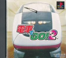 Densha De Go 2  PS1 Playstation 1 Japan Import  N.Mint/ Bad   US SELLER