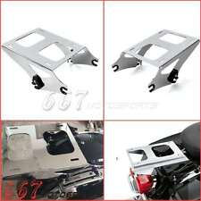 Detachable Two Up Tour Pak Pack Mount Luggage Rack For Harley Touring Road King