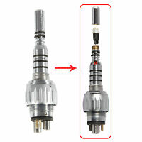 Dental 6 hole (pin) Connector fiber optic for KAVO handpiece