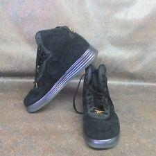 watch 5d0a7 d1c45 Mens Nike LUNAR FORCE 1 LUX BHM QS Shoes Seakers Black 650719 001 -Sz 13