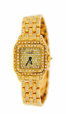 Cartier Panther Factory Diamonds 18K Yellow Gold Watch WF3072B9PVE