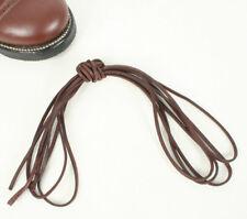 Long lacets en cuir pour american jump bottes marron. 180cm AG399
