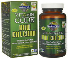 Garden of Life VITAMIN CODE Raw Calcium Plant Form Calcium 120 Veg Caps