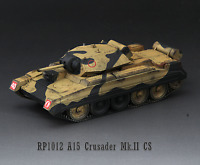 S-Model 1/72 British A15 Crusader MK Ⅱ Tank Finished Product #RP1012