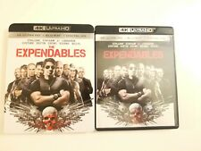 The Expendables (4K UHD, Blu-ray, Digital, 2017) w/ OOP Rare Slipcover. Stallone