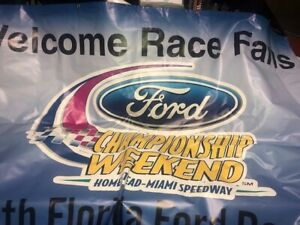 Nascar Homestead Champion Weekend Banner - Ford