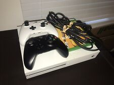 Microsoft Xbox One S (500GB) White Console Madden NBA 2K20 & Controllers Bundle!